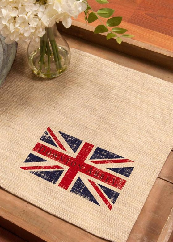 DowntonUnionJack_PlacematWovenBritish1
